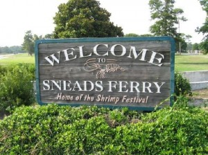 Entrance Sneads Ferry, NC